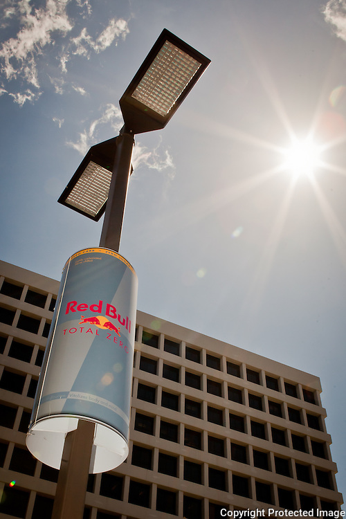 Red Bull Signage for Seven Eleven
