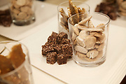 """NEW YORK, NY - March, 13, 2017: In the kitchen at """"NY Buzz"""" a dinner at the James Beard House led by Cosme chef Daniela Soto-Innes and featuring chefs Missy Robbins of Lillia, Isabel Coss of Agern and Fany Gerson of La Newyorkina. <br /> <br /> Credit: Clay Williams for The James Beard Foundation.<br /> <br /> © Clay Williams / http://claywilliamsphoto.com"""
