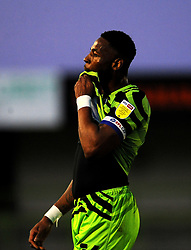 Jamille Matt of Forest Green Rovers- Mandatory by-line: Nizaam Jones/JMP - 27/02/2021 - FOOTBALL - The innocent New Lawn Stadium - Nailsworth, England - Forest Green Rovers v Colchester United - Sky Bet League Two