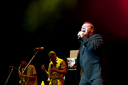© licensed to London News Pictures. London, UK. Ali Campbell, the voice of UB40, playing live at IndigO2 in London on May 6, 2011.  Please see special instructions for usage rates. Photo credit should read Marcia Petterson/LNP