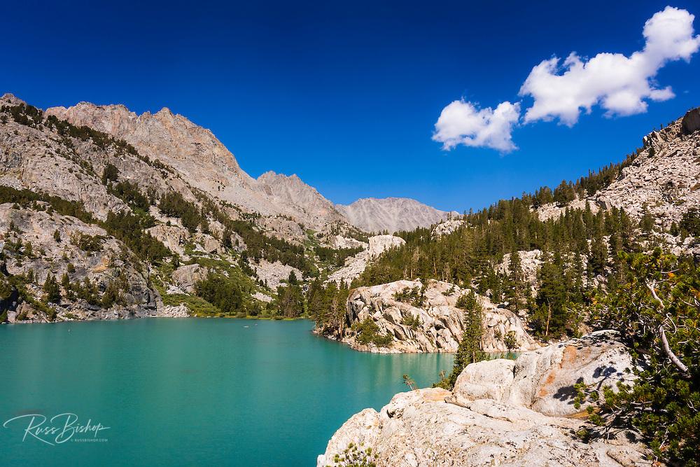 Big Pine Lake #3, John Muir Wilderness, Sierra Nevada Mountains, California USA