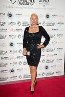 Friederike Krum on the red carpet for the Lifestyle Awards 2021, at the Landmark Hotel Marylebone, London.