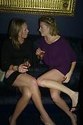Nadia Azlen and Fiona Kent, Tatler's Little Black Book party. Tramp. Jermyn St.  London. 7 November 2007. -DO NOT ARCHIVE-© Copyright Photograph by Dafydd Jones. 248 Clapham Rd. London SW9 0PZ. Tel 0207 820 0771. www.dafjones.com.