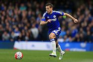 Cesar Azpilicueta of Chelsea in action.Barclays Premier league match, Chelsea v Tottenham Hotspur at Stamford Bridge in London on Monday 2nd May 2016.<br /> pic by Andrew Orchard, Andrew Orchard sports photography.