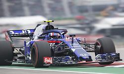 October 20, 2018 - Austin, Texas, U.S - 10 ''PIERRE HARTLEY'' Red Bull Toro Rosso Honda F1 Pirelli Hot Laps (Credit Image: © Hoss McBain/ZUMA Wire)