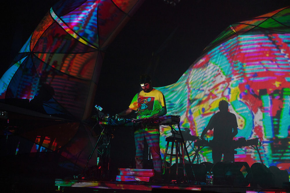 Animal Collective at The Thomas Wolfe Auditorium, 10/26/13 Mountain Oasis Festival