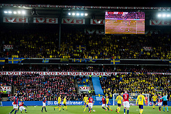 March 26, 2019 - Oslo, NORWAY - 190326 General view of Ullevaal Stadium during the UEFA Euro qualifier football match between Norway and Sweden on March 26, 2019 in Oslo..Photo: Jon Olav Nesvold / BILDBYRÃ…N / kod JE / 160435 (Credit Image: © Jon Olav Nesvold/Bildbyran via ZUMA Press)