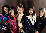 Judas Priest group photosession London 1970