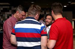 Bristol City head coach Lee Johnson mingles with guests during the Lansdown Club event - Mandatory by-line: Robbie Stephenson/JMP - 06/09/2016 - GENERAL SPORT - Ashton Gate - Bristol, England - Lansdown Club -