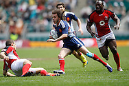 Picture by Andrew Tobin/Tobinators Ltd +44 7710 761829.12/05/2013.Terry Bouhraoua of France in action during their match against Canada during the Emirates London 7s at Twickenham Stadium, Twickenham.