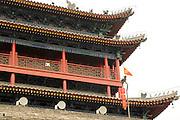 China, Xian Shaanxi, Bell Tower pagoda