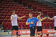 Danzica - Polonia 03 Agosto 2012 - Nazionale Italia Maschile Allenamento - <br /> Nella Foto : FRANCESCO CUZZOLIN<br /> Foto Ciamillo