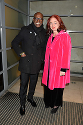 Charles Aboah and Camilla Lowther at a private view of Isabella Blow: Fashion Galore! held at Somerset House, London on 19th November 2013.