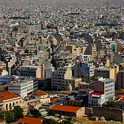 Athens city rooftops (panorama) (Athens, Greece - Jun. 2008) (Image ID: 080620-0958433a)