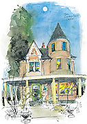"""The """"Georgetown Castle"""" is a highlight of Halloween walking tours organized by the Friends of Georgetown History. <br /> <br /> Gabriel Campanario / The Seattle Times"""