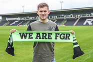 New Signing Forest Green Rovers 12-06-2018. 120618