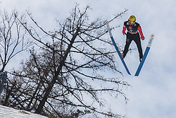 Dmitriy Vassiliev (RUS) during the 1st round of the Ski Flying Hill Individual Competition at Day 2 of FIS Ski Jumping World Cup Final 2019, on March 22, 2019 in Planica, Slovenia. Photo Peter Podobnik / Sportida