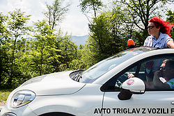 Referee Nevenka Sres during Stage 1 of 24th Tour of Slovenia 2017 / Tour de Slovenie from Koper to Kocevje (159,4 km) cycling race on June 15, 2017 in Slovenia. Photo by Vid Ponikvar / Sportida