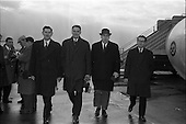 1963 - Donnelly (Dublin) Ltd. Managers depart for American Tour from Dublin Airport