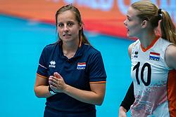 Malou Alferink during United States - Netherlands, FIVB U20 Women's World Championship on July 15, 2021 in Rotterdam