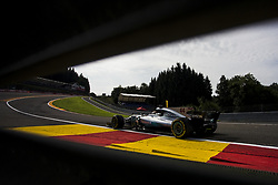 August 25, 2017 - Spa, Belgium - 44 HAMILTON Lewis from Great Britain of team Mercedes GP during the Formula One Belgian Grand Prix at Circuit de Spa-Francorchamps on August 25, 2017 in Spa, Belgium. (Credit Image: © Xavier Bonilla/NurPhoto via ZUMA Press)