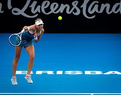 January 2, 2019 - Brisbane, AUSTRALIA - Anett Kontaveit of Estonia in action during her second-round match at the 2019 Brisbane International WTA Premier tennis tournament (Credit Image: © AFP7 via ZUMA Wire)