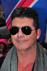 Britain's Got Talent London auditions.  Simon Cowell, attends the London auditions of the nationwide talent show, The London Palladium, London, United Kingdom, January 20, 2013. Photo by Nils Jorgensen / i-Images.