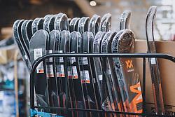 THEMENBILD - Verkaufsware in einem Sportartikel Geschäft während der Coronavirus Pandemie. Ab heute sperren zahlreiche Handelsgeschäfte nach dem einmonatigen Shutdown wieder auf. Zell am See Kaprun am Dienstag 14. April 2020. // Goods for sale in a sporting equipment store during the World Wide Coronavirus Pandemic. Starting today, many shops will re open after the one-month shutdown in Kaprun, Austria on 2020/04/14. EXPA Pictures © 2020, PhotoCredit: EXPA/ JFK