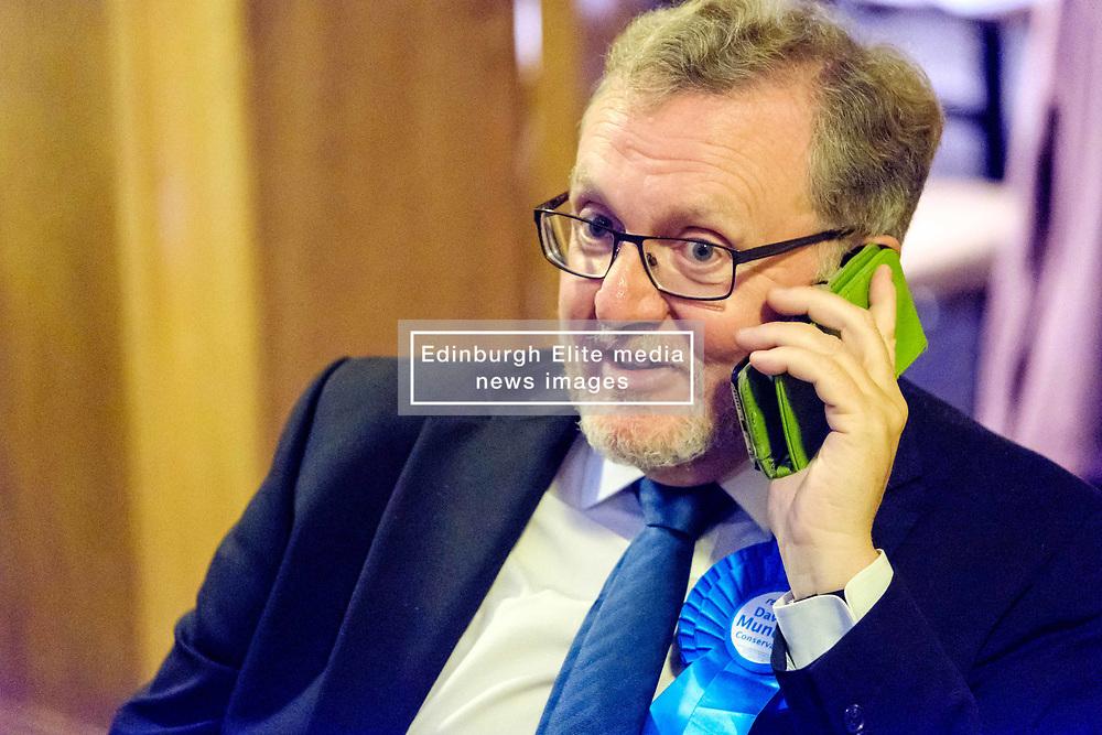 General Election 2017 Dumfries Count :: David Mundell, Conservative at the count<br /> <br /> (c) Andrew Wilson | Edinburgh Elite media