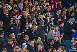 January 7, 2019 - Lille, France - Supporters de l equipe LOSC - ambiance (Credit Image: © Panoramic via ZUMA Press)