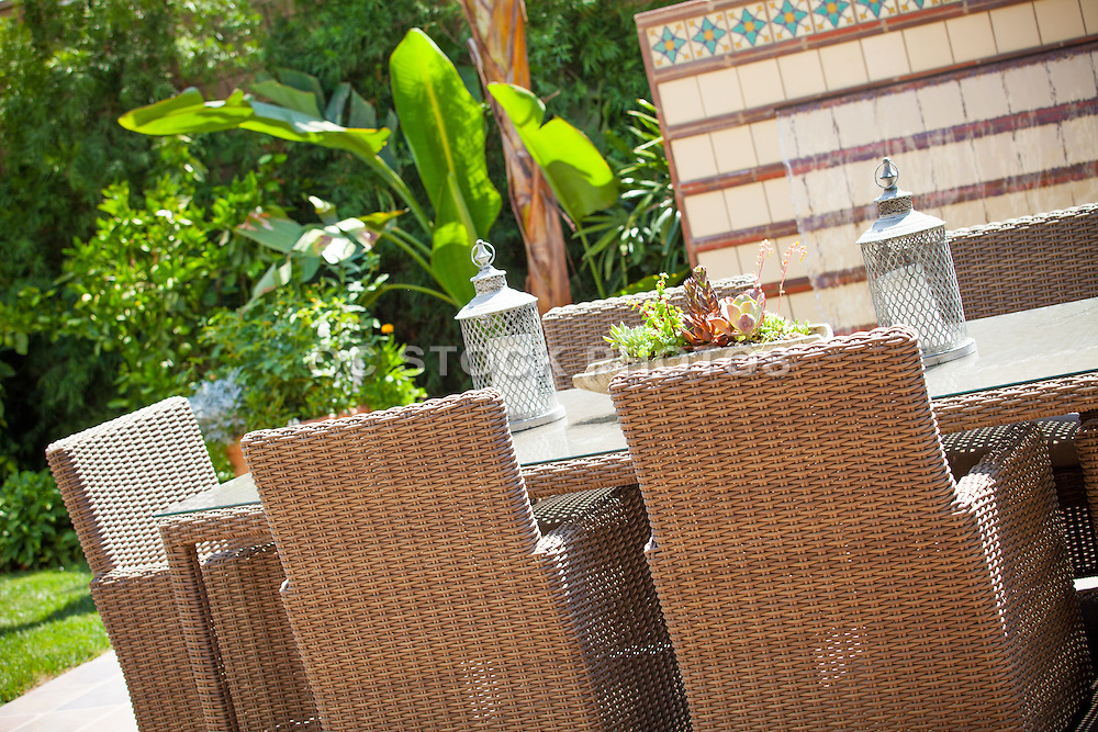 Backyard Patio Dining Table