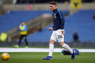 Mathew Stevens of Peterborough United warms up prior to the EFL Sky Bet League 1 match between Oxford United and Peterborough United at the Kassam Stadium, Oxford, England on 16 February 2019.