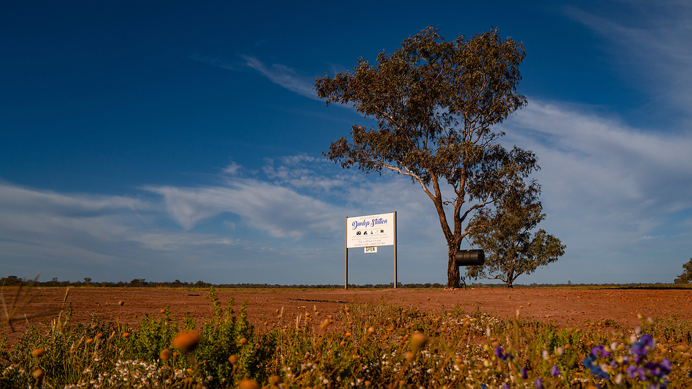 Dunlop Station, Outback NSW near Louth