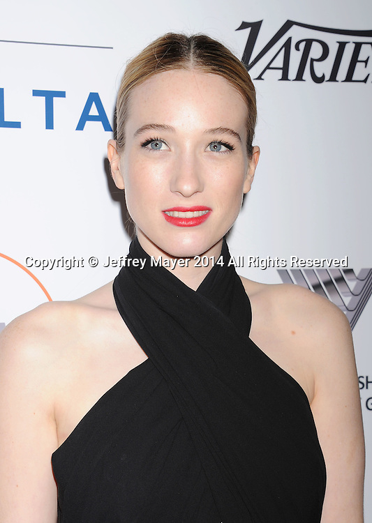 SANTA MONICA, CA- OCTOBER 26: Actress Sophie Lowe attends the 3rd Annual Australians in Film Awards Benefit Gala at the Fairmont Miramar Hotel on October 26, 2014 in Santa Monica, California.