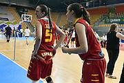 DESCRIZIONE : Celje U20 Campionato Europeo Femminile Finale 1-2 posto Francia Spagna European Championship Women Final 1-2 place France Spain <br /> GIOCATORE : Maria Cazorla<br /> CATEGORIA : esultanza postgame curiosita<br /> SQUADRA : Spagna Spain<br /> EVENTO : Celje U20 Campionato Europeo Femminile Finale 1-2 posto Francia Spagna European Championship Women Final 1-2 place France Spain <br /> GARA : Francia Spain France Spain<br /> DATA : 09/08/2015<br /> SPORT : Pallacanestro <br /> AUTORE : Agenzia Ciamillo-Castoria/Max.Ceretti<br /> Galleria : Europeo Under 20 Femminile <br /> Fotonotizia : Celje U20 Campionato Europeo Femminile Finale 1-2 posto Francia Spagna European Championship Women Final 1-2 place France Spain<br /> Predefinita :