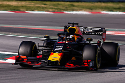 February 28, 2019 - Montmelo, BARCELONA, Spain - Pierre Gasly from France with 10 Aston Martin Red Bull Racing - Honda RB15 in action during the Formula 1 2019 Pre-Season Tests at Circuit de Barcelona - Catalunya in Montmelo, Spain on February 28. (Credit Image: © AFP7 via ZUMA Wire)