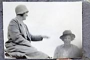 adult friends having fun 1900s England