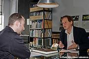 Psychanalyse et architecture. Paul Laurendeau, architecte et Jean-Paul Gilson, psychanalyste.  -  Bureaux de Paul Laurendeau, / Montreal / Canada / 2009-01-29, © Photo Marc Gibert / adecom.ca