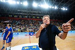 Zoran Jankovic with a whistle during handball event named Rokometna simfonija organised as a game between Zorman's team and Zvizej's team when Uros Zorman and Luka Zvizej officially retire from their professional handball career, on October 24, 2019 in Arena Zlatorog, Celje, Slovenia. Photo by Grega Valancic/ Sportida