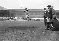 H915 Aonach Tailteann Athletics - Croke Park. Osborne in long jump. 1928. (Part of the Independent Newspapers Ireland/NLI Collection)