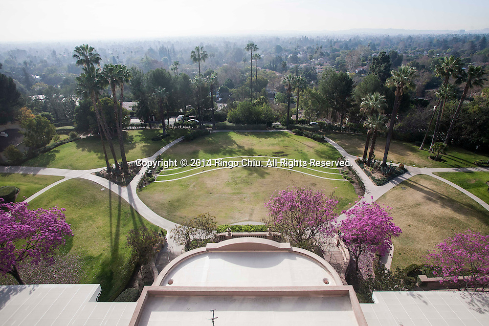 The view from Tournament of Rose at Langham Hotel in Pasadena.<br /> (Photo by Ringo Chiu/PHOTOFORMULA.com)