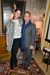 KATRINA PAVLOS and TOM HOLLANDER at a private screening of 'A Postcard From Istanbul' directed by John Malkovich In Collaboration With St. Regis Hotels & Resorts held at 5 Hertford Street, London on 3rd March 2015