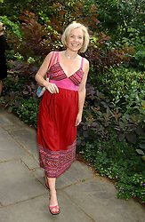 TV presenter MARIELLA FROSTRUP at the annual House of Lords v House of Commons tug of war match in aid of  of  Macmillan Cancer Relief on 21st June 2005.  A drinks reception was held in College Gardens followd by the tug of war on Victoria Tower Gardens, London.                                 <br /><br />NON EXCLUSIVE - WORLD RIGHTS