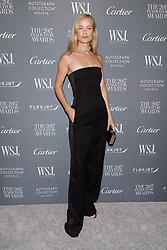 Model Carolyn Murphy attends the WSJ. Magazine 2017 Innovator Awards at MOMA in New York, NY, on November 1, 2017. (Photo by Anthony Behar/Sipa USA)