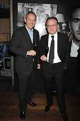 Left to right, GRAHAM BOYD and wine maker RICHARD GEOFFROY at a party to launch the Dom Perignon OEotheque 1995 held at The Landau, Portland Place, London W1 on 26th February 2008.<br />