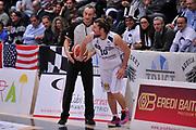 DESCRIZIONE : Trento Lega A 2015-16 Dolomiti Energia Trentino - Consultinvest Pesaro<br /> GIOCATORE : Toto Forray Arbitro Referee<br /> CATEGORIA : Fair Play<br /> SQUADRA : Dolomiti Energia Trentino - Consultinvest Pesaro<br /> EVENTO : Campionato Lega A 2015-2016 <br /> GARA : Dolomiti Energia Trentino - Consultinvest Pesaro<br /> DATA : 08/11/2015 <br /> SPORT : Pallacanestro <br /> AUTORE : Agenzia Ciamillo-Castoria/M.Gregolin<br /> Galleria : Lega Basket A 2015-2016 <br /> Fotonotizia : Trento Lega A 2015-16 Dolomiti Energia Trentino - Consultinvest Pesaro