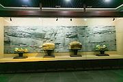 Hanging coffin, Baidicheng, White Emperor City, Yangtze River, China