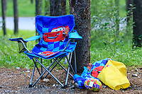 Camping at the Two-Jack Main campground in Banff National Park..©2009, Sean Phillips.http://www.Sean-Phillips.com