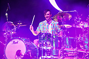 Arejay Hale – drums, backing vocals for Halestorm 2019 Fall Tour October 13th, 2019 in Ontario, California at the Toyota Arena
