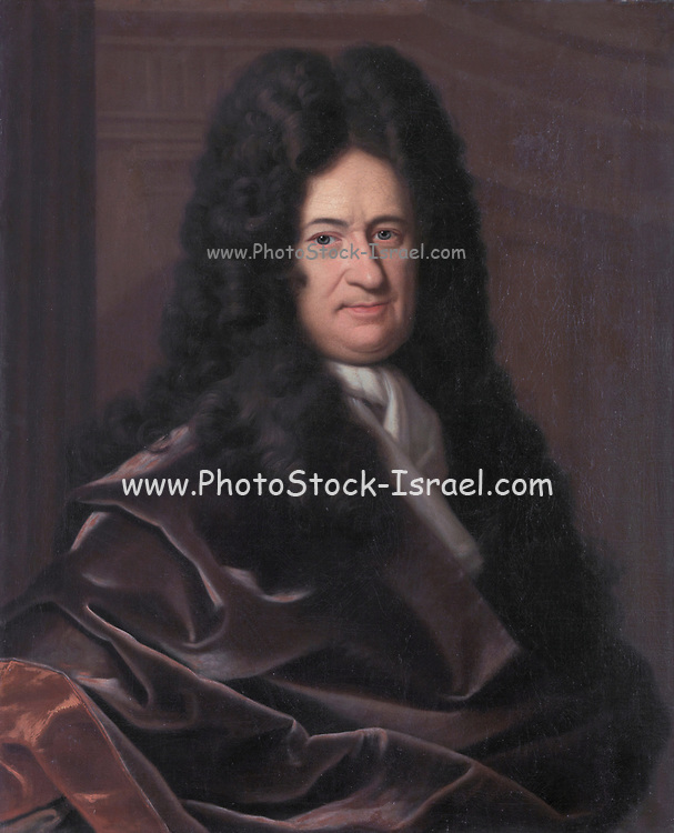 Portrait of Gottfried Wilhelm Leibniz by Bernhard Christoph Francke oil on canvas. Gottfried Wilhelm (von) Leibniz (sometimes spelled Leibnitz) (1 July 1646 [O.S. 21 June] – 14 November 1716) was a prominent German polymath and one of the most important logicians, mathematicians and natural philosophers of the Enlightenment. As a representative of the seventeenth-century tradition of rationalism, Leibniz developed, as his most prominent accomplishment, the ideas of differential and integral calculus, independently of Isaac Newton's contemporaneous developments